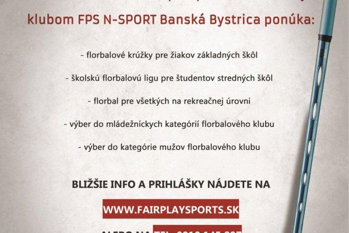 Ilustračný obrázok k článku OZ Fair play sports podporuje mladé florbalové talenty