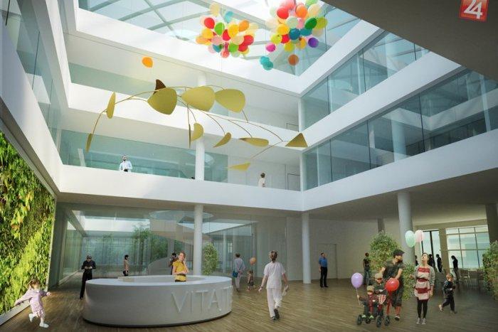 Ilustračný obrázok k článku VIZUALIZÁCIA: Takto má vyzerať nová michalovská nemocnica