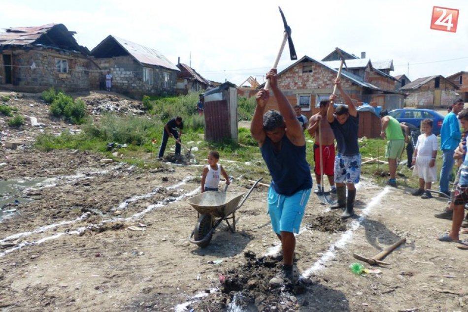 Ilustračný obrázok k článku Rómska osada vo Veľkej Lomnici? Nelegálne sa rozširuje ďalej, obec pripravuje systémové kroky