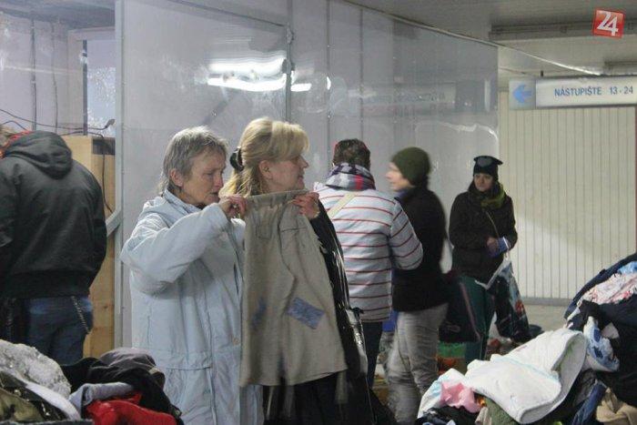 Ilustračný obrázok k článku OBRAZOM: Zóna bez peňazí sa vydarila, zvýšili kopy oblečenia!