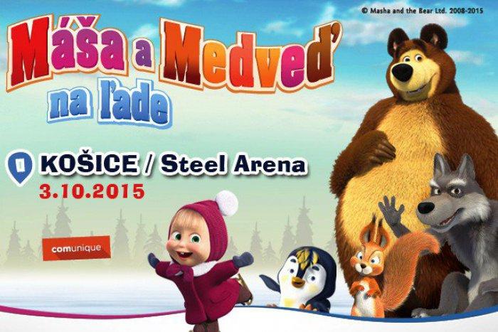 Ilustračný obrázok k článku Absolútna novinka: Obľúbená Máša a Medveď sa chystajú na košický ľad!