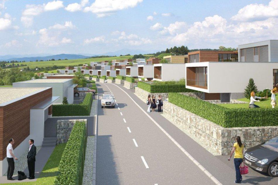 Ilustračný obrázok k článku VIZUALIZÁCIE: Vo Zvolene má vzniknúť nová štvrť. Postaviť chcú až 139 domov