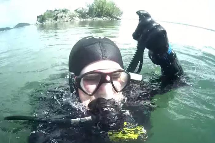 Ilustračný obrázok k článku Zemplínska šírava očami potápačov: Pod vodou to žije ako v piatok v krčme! VIDEO