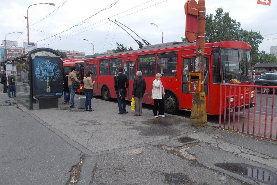 Ilustračný obrázok k článku Z Hlavnej stanice sa od júna dostanete trolejbusom číslo 210 až k novej budove SND