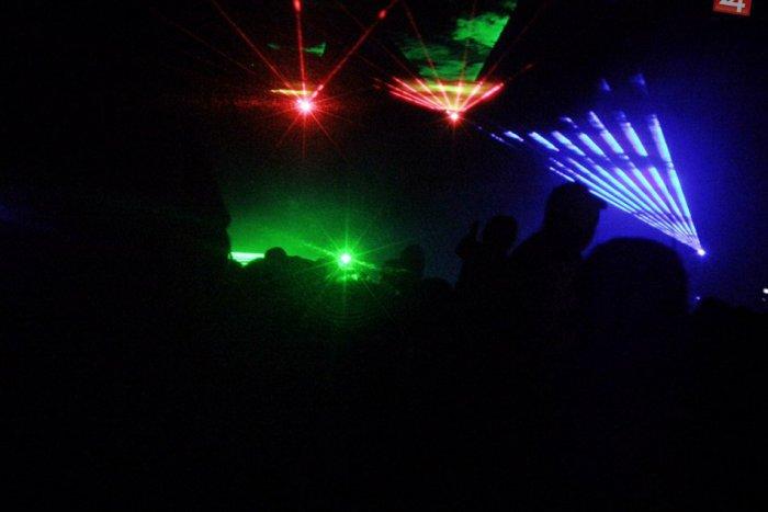 Ilustračný obrázok k článku Video: Pripomeňte si laserovú show počas vatry v Rožňave