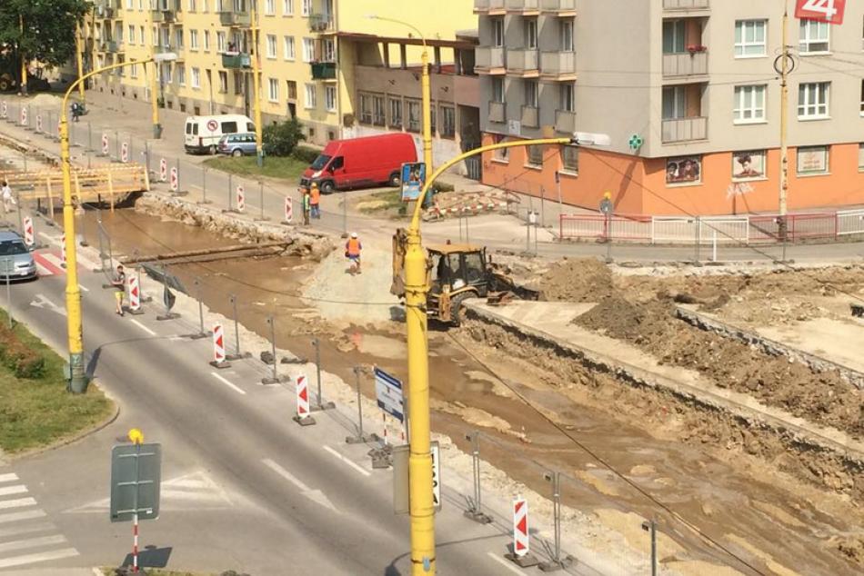 Ilustračný obrázok k článku Rekonštrukcia tratí: Centrum Košíc sa začína podobať na Benátky, pozrite FOTO :)