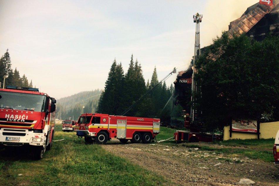 Ilustračný obrázok k článku Nové informácie o veľkom požiari v hoteli Junior: V Demänovskej doline zahynul muž (†64)!