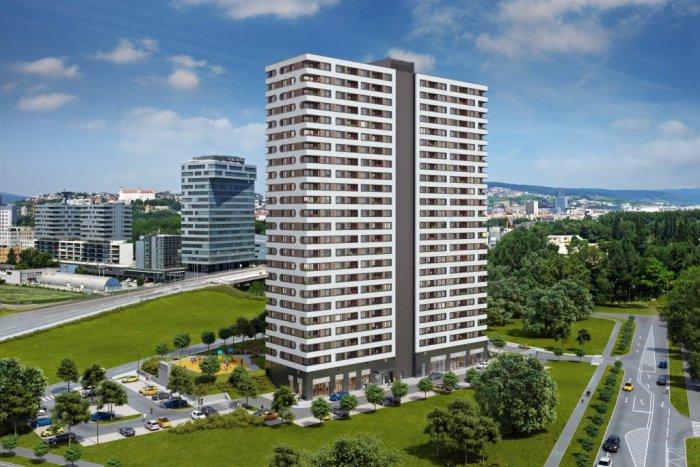 Ilustračný obrázok k článku Moderný vežiak Fuxova v Petržalke spustil predaj bytov. Zistili sme, aké sú ceny