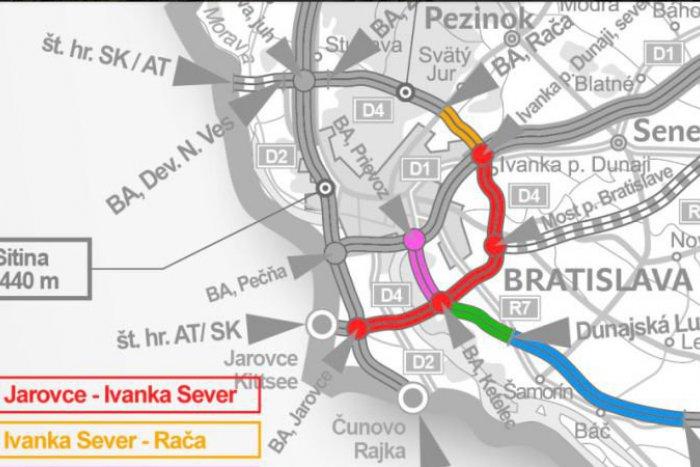 Ilustračný obrázok k článku Šokujúce zistenia okolo obchvatu Bratislavy. Celý projekt môže byť predražený až o miliardu