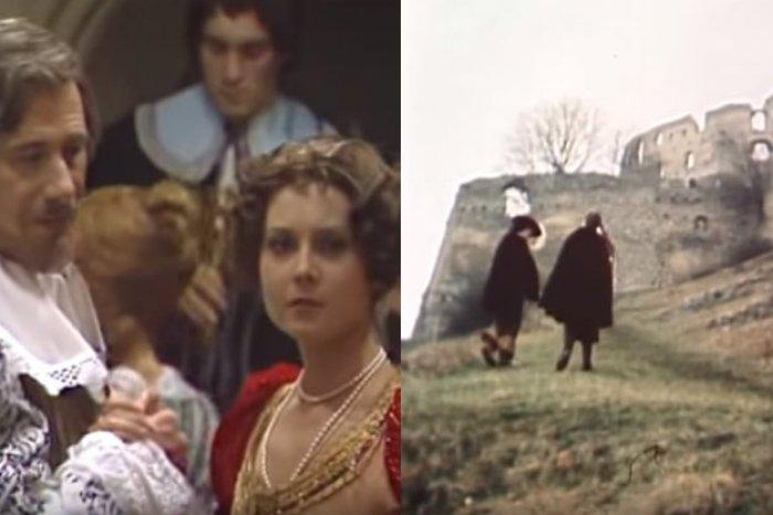 Ilustračný obrázok k článku Povesť o Topoľčianskom hrade a Ľudmile očarila filmárov: Láska, intrigy a životná tragédia