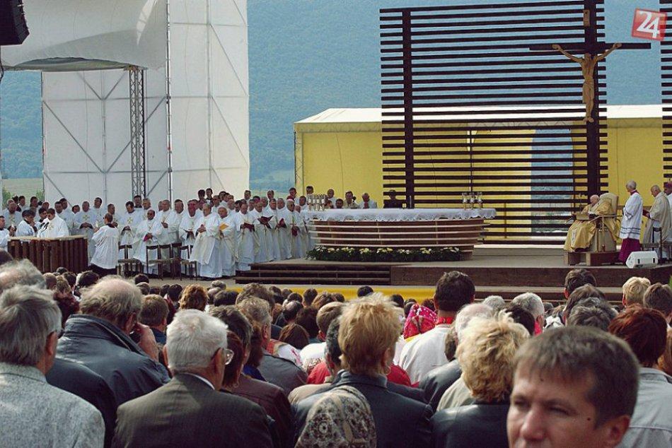Ilustračný obrázok k článku Ten čas ale letí: Od návštevy pápeža v Rožňave ubehlo už 15 rokov, FOTO!