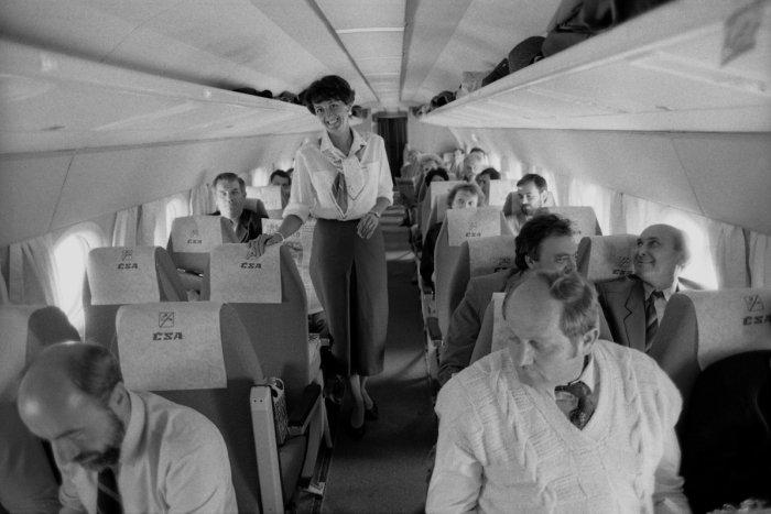 Ilustračný obrázok k článku OBRAZOM: Kam sa lietalo počas socializmu najčastejšie?