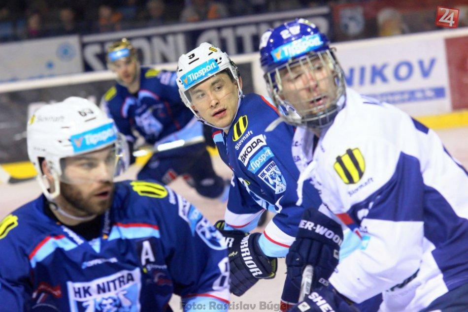 Ilustračný obrázok k článku Martin v Nitre siahal na body: Hokejistom spod Zobora pomohla blesková odpoveď