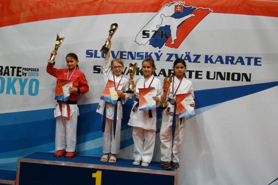 Ilustračný obrázok k článku Popradčania úspešní aj na Grand Prix Slovakia. V Bratislave získal Shihan osem medailí