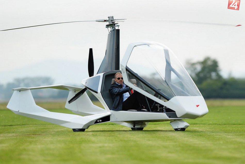 Ilustračný obrázok k článku Po Aeromobile prichádza ďalší lietajúci unikát z nášho regiónu: Joker Gyrocopter patrí medzi elitu