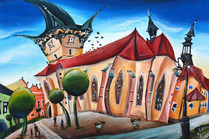 Ilustračný obrázok k článku Lucia maľuje Prešov spôsobom, aký ste ešte nevideli: Pozrite si jej nádhernú tvorbu! FOTO