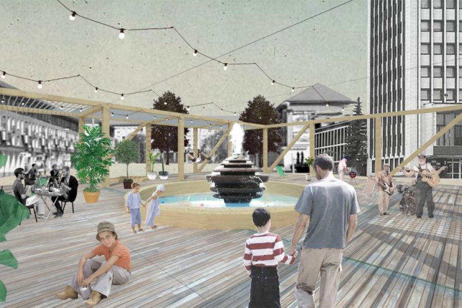 Ilustračný obrázok k článku Plánovaný pavilón na námestí zaťal do živého: Žiarčania rozdelení na dva tábory!