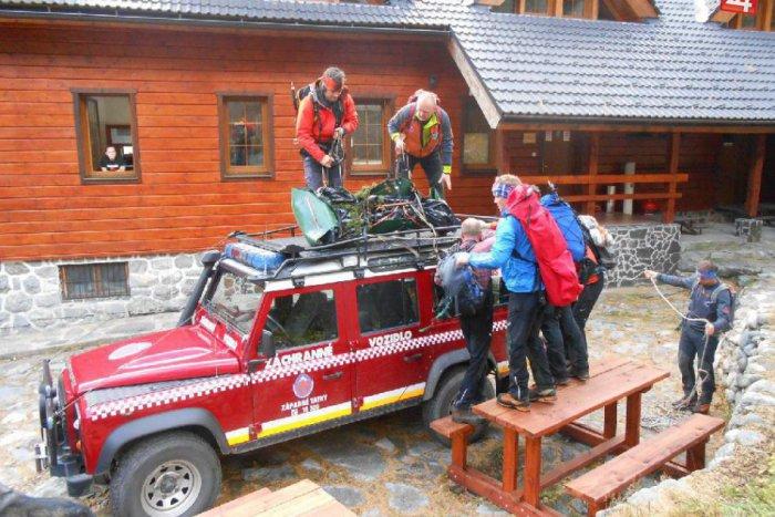 Ilustračný obrázok k článku Dve záchranné akcie v Malej Fatre: Pre turistu mimoriadne spustili lanovku