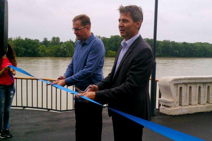 Ilustračný obrázok k článku Dunajská promenáda je otvorená. Chýba však cykloznačenie