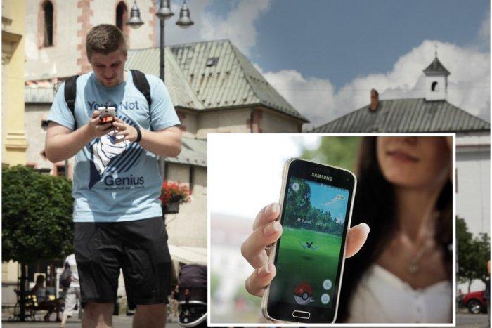 Ilustračný obrázok k článku Bystričanov opantal celosvetový hit: Pokémoni na Huštáku, ber mobil a choď!