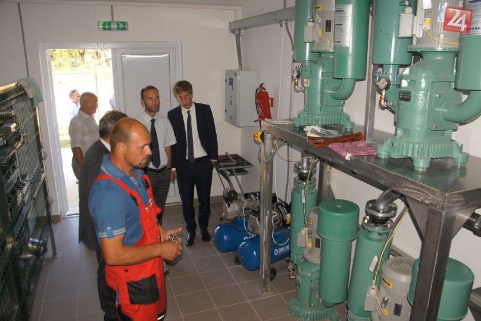 Ilustračný obrázok k článku Program Švajčiarsko-slovenskej spolupráce: V obci Gemerská Poloma sa dokončila realizácia novej čističky