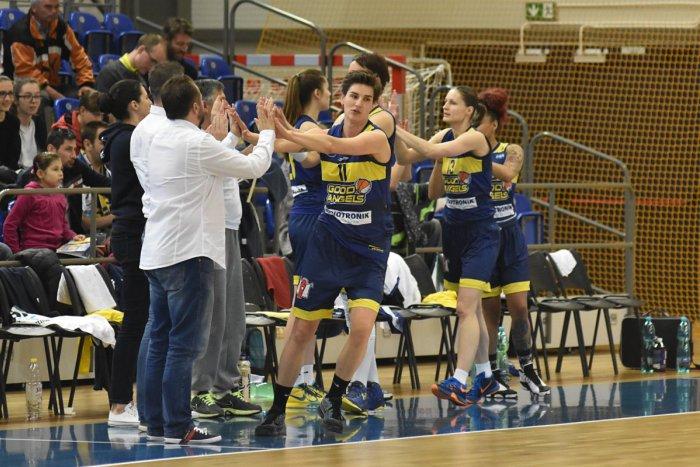 Ilustračný obrázok k článku Premiéra vo Východoeurópskej lige: Basketbalistky Good Angels si pochutnali na súperkách