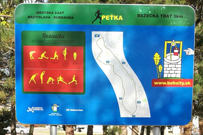 Ilustračný obrázok k článku Bežci už majú aj v Dúbravke svoju trať