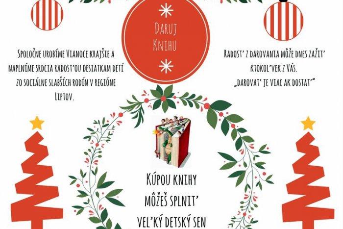 Ilustračný obrázok k článku Ružomberčania spravte na Vianoce dobrý skutok a DARUJTE KNIHU!
