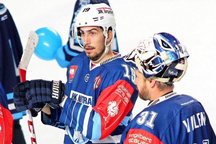 Ilustračný obrázok k článku Hokejový obranca König odišiel z Nitry: Hrať bude za Martin