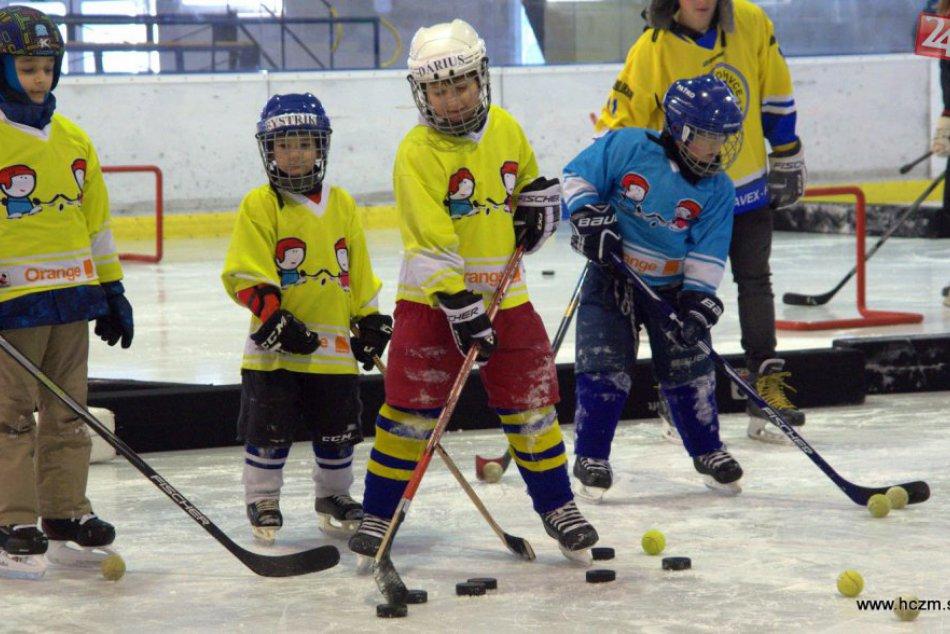 Ilustračný obrázok k článku Akcia Deti na hokej zožala úspech: Zahrať si prišlo kopec detí, pozrite si to!