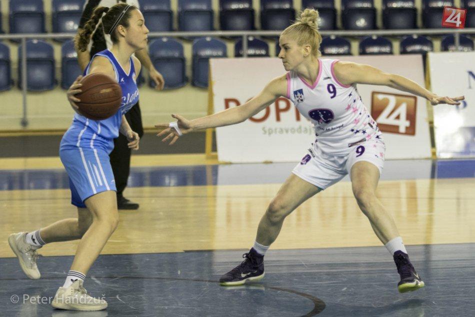 Ilustračný obrázok k článku Basketbalistky zdolali aj Banskú Bystricu a vo vyraďovačke vyzvú Šamorín