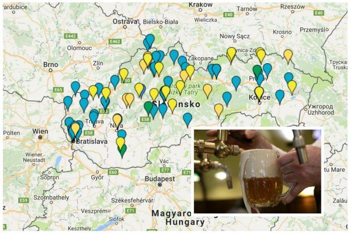 Ilustračný obrázok k článku Kde varia dobré pivo? Remeselné pivovary na Slovensku sú zmapované!