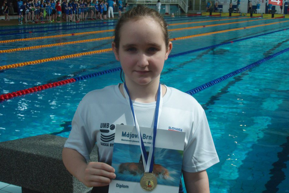 Ilustračný obrázok k článku FOTO: Mladá plavkyňa z UMB zabodovala. Triumfovala na medzinárodných pretekoch