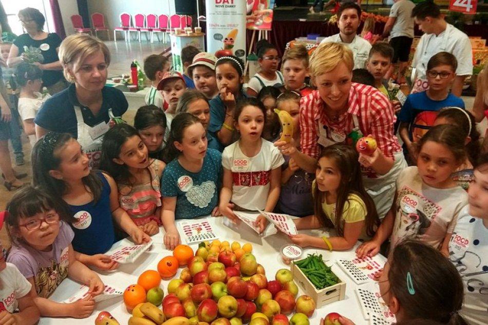 Ilustračný obrázok k článku Deň so zdravými potravinami si užili aj deti v Zámkoch: Záujem bol veľký, FOTO