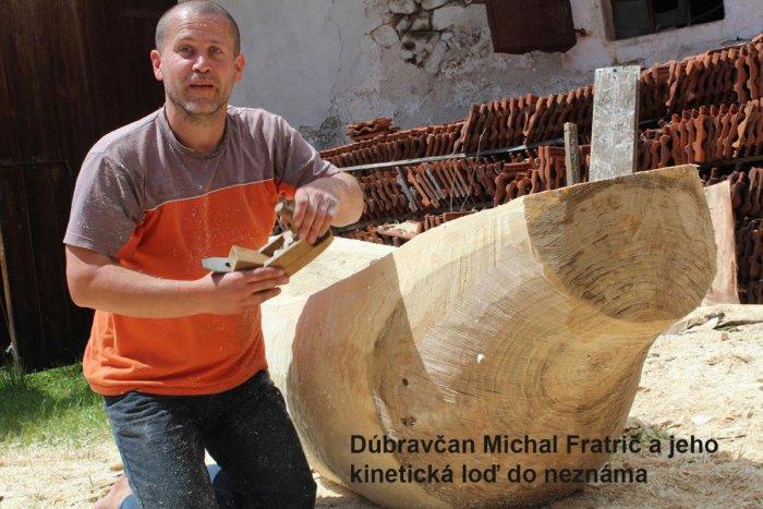 Ilustračný obrázok k článku Dúbravský rezbár Michal Fratrič bude reprezentovať Slovensko na Expo v Kazachstane