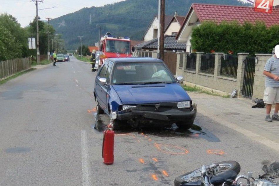 Ilustračný obrázok k článku FOTO z miesta tragickej nehody neďaleko Považskej: Motorkár († 52) neprežil!