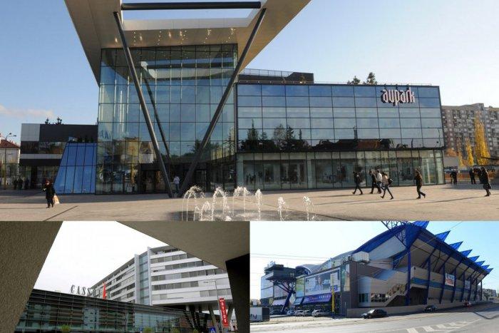 Ilustračný obrázok k článku Aupark, Cassovar a Steel Aréna: 3 stavby, ktoré zmenili tvár mesta, FOTO