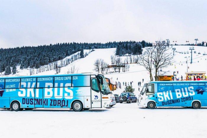 Ilustračný obrázok k článku Super správa pre lučeneckých lyžiarov: Naskočte do skibusu a hurá na kopec!