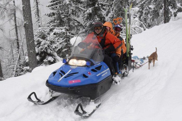 Ilustračný obrázok k článku Záchranári v akcii: Ratovať museli zranenú skialpinistku