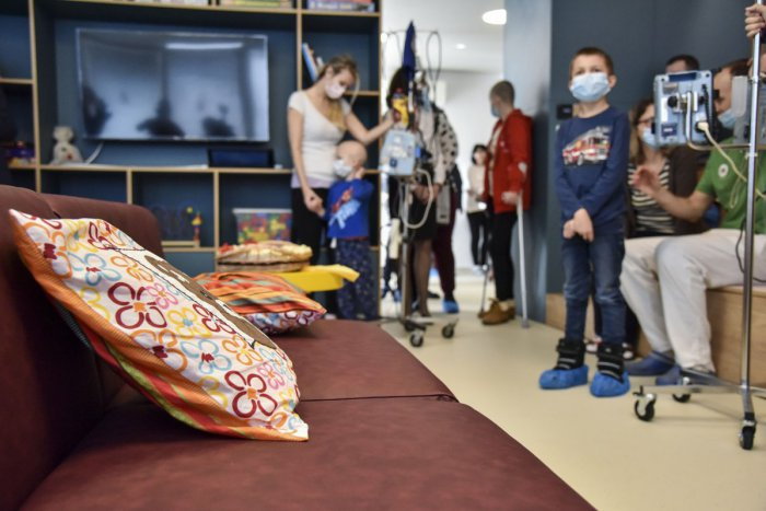 Ilustračný obrázok k článku Nová herňa spríjemní deťom náročné dni na onkológii