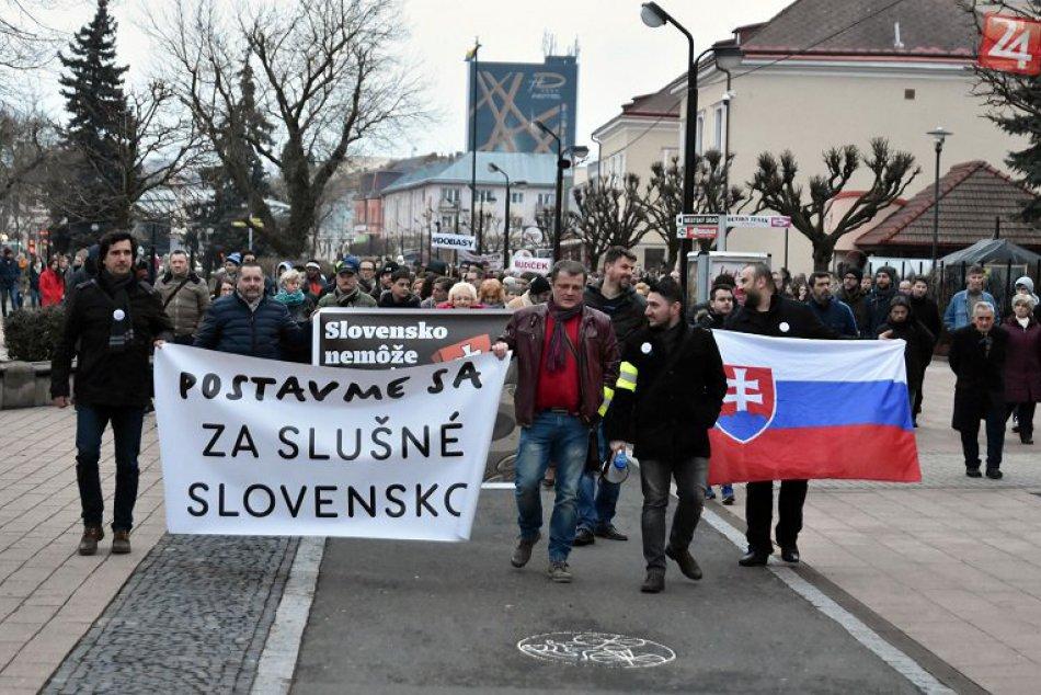 Ilustračný obrázok k článku Ľudia v Michalovciach opäť vyjdú do ulíc: Uskutoční sa ďalšie zhromaždenie Za slušné Slovensko