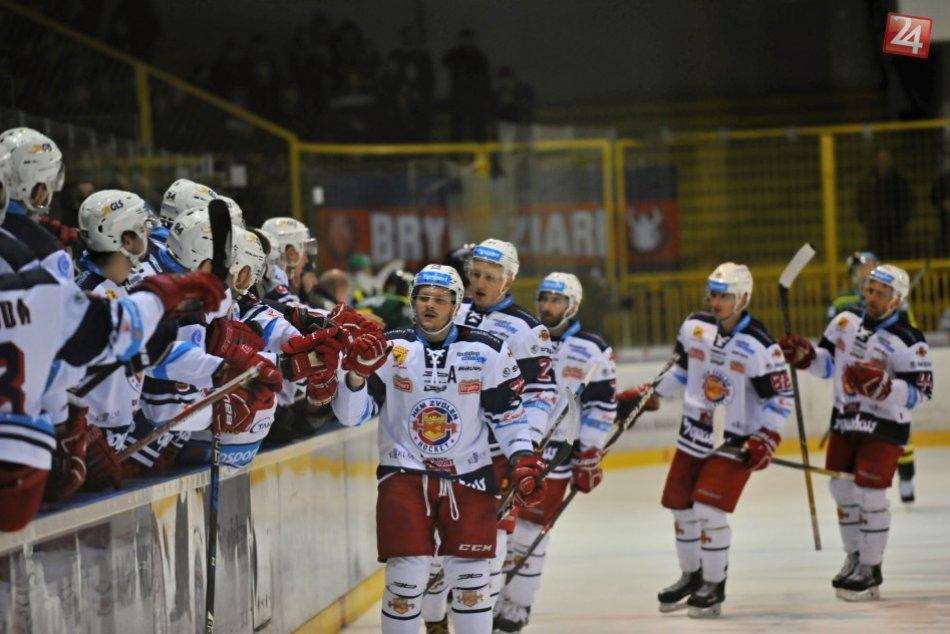 Ilustračný obrázok k článku FOTO: Zvolenčania sú v semifinále. V šiestom zápase zdolali žilinských vlkov