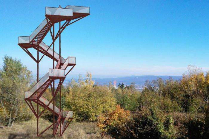 Ilustračný obrázok k článku Na Devínskej Kobyle postavia vyhliadkovú vežu. Bude mať tvar pamodlivky