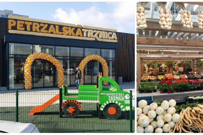 Ilustračný obrázok k článku FOTO: Petržalská tržnica otvorila svoje brány. Ponúka priestor na nákupy aj susedské stretnutia