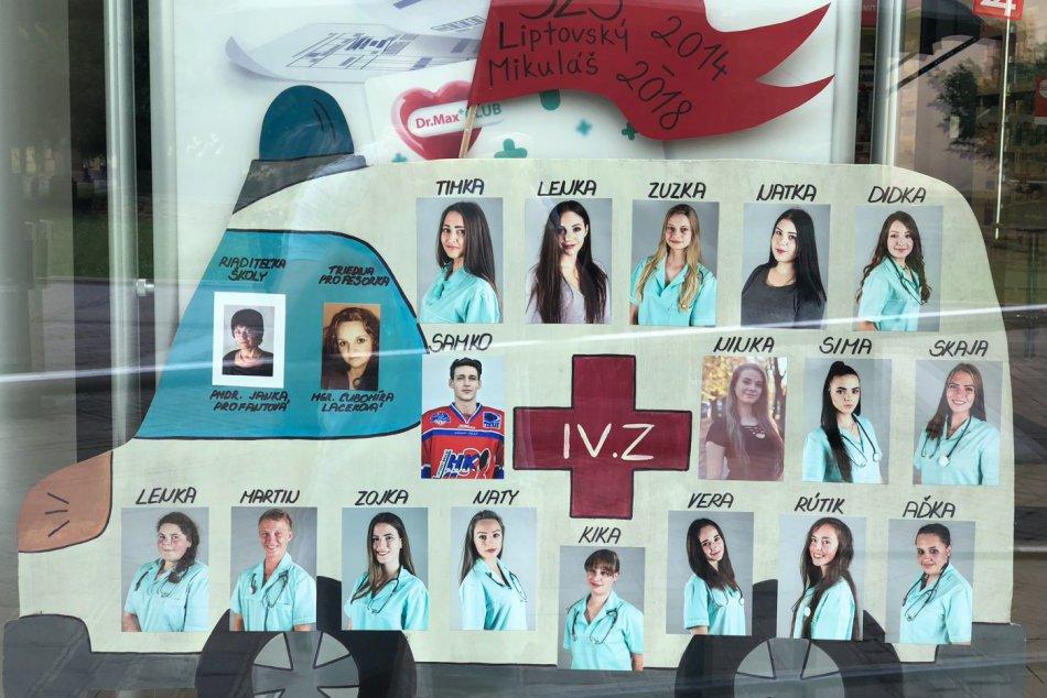 Ilustračný obrázok k článku Mikulášske maturitné tablá na FOTO: Hlasujte, ktoré je najkrajšie!