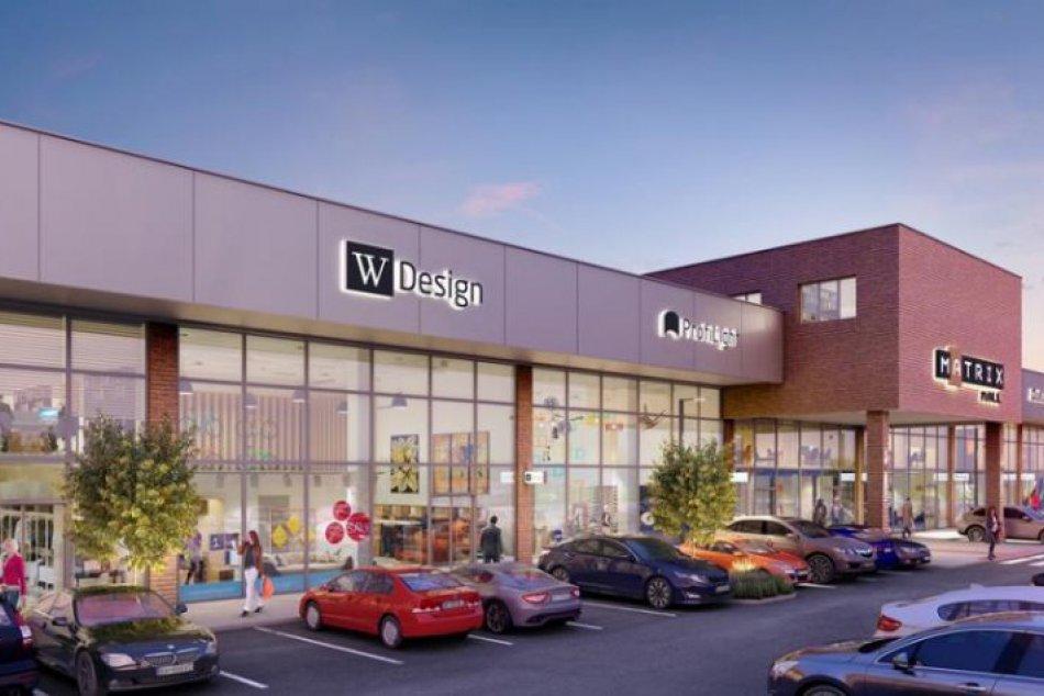 Ilustračný obrázok k článku Na Vajnorskej vyrastie nové obchodné centrum Matrix Mall