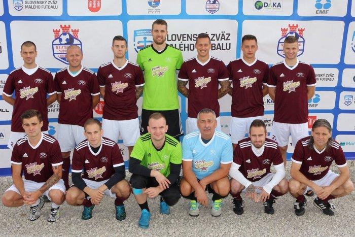 Ilustračný obrázok k článku Košičania sa stali majstrami Slovenska v malom futbale