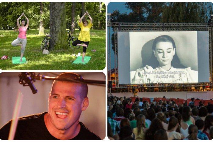 Ilustračný obrázok k článku Kam v Bratislave zadarmo: Festival Music Square, premietanie letného kina aj cvičenie v parku
