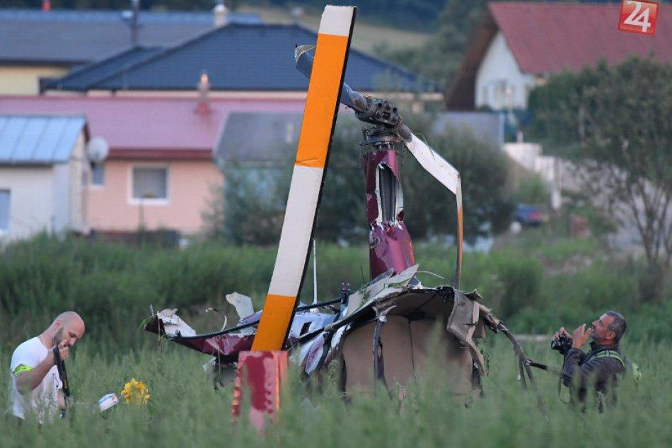 Ilustračný obrázok k článku FOTO+VIDEO: Tragédia pri Prešove, haváriu vrtuľníka neprežil jeden človek