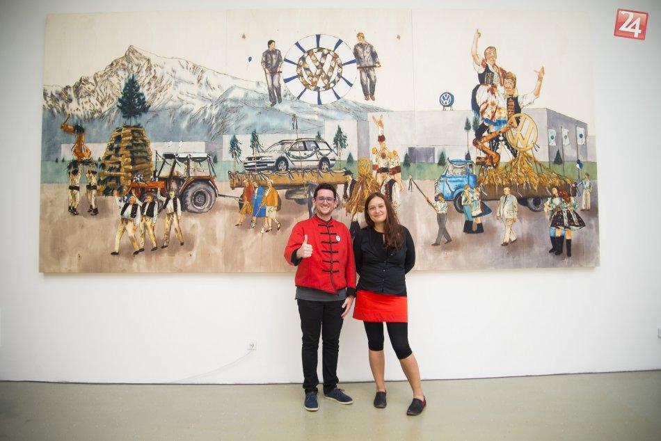 Ilustračný obrázok k článku VIDEO + FOTO: Kunsthalle Bratislava otvorila výstavu Orly a holubice